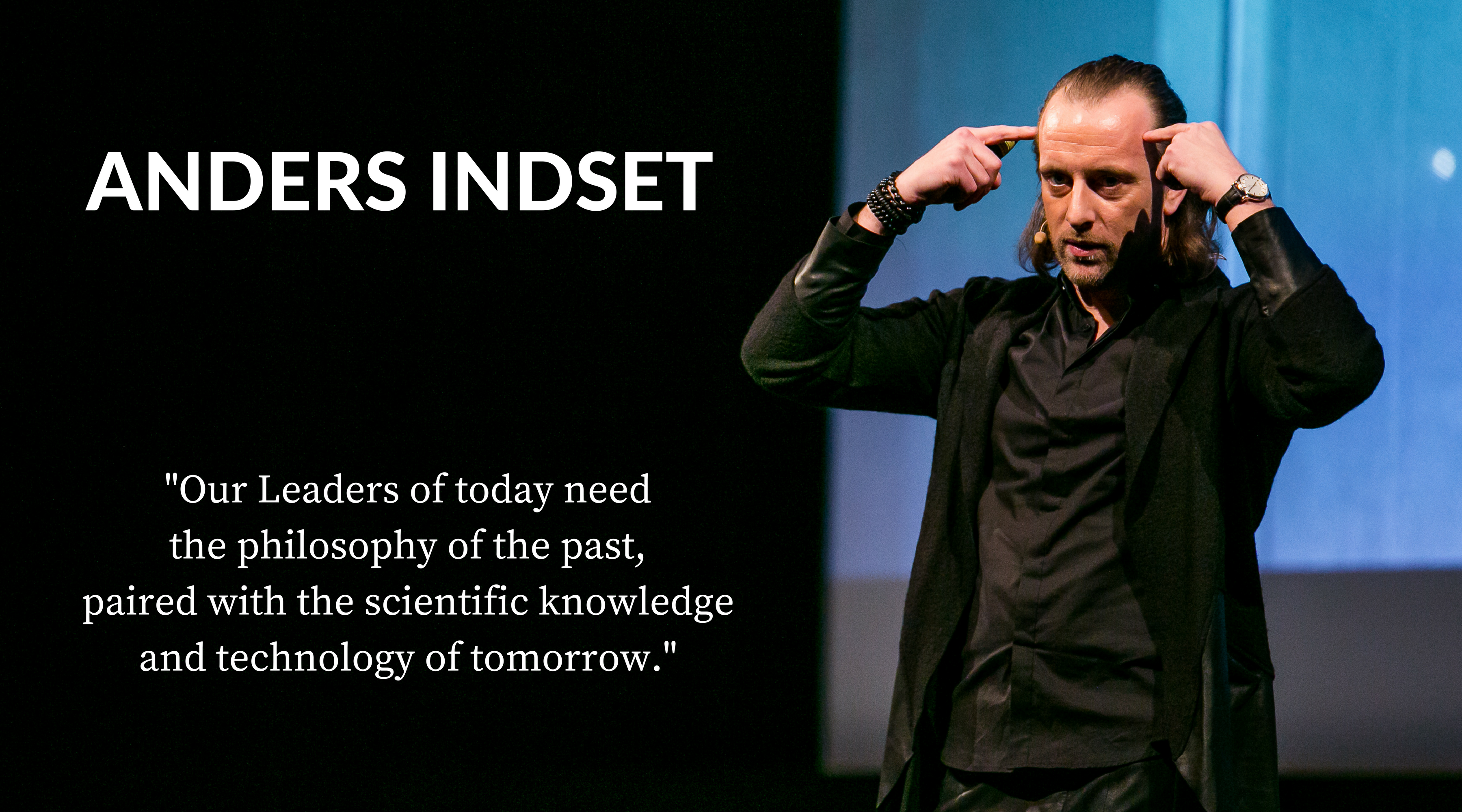 Anders Indset RIGA COMM Business Innovation Conference 2016 Keynote Speaker quote
